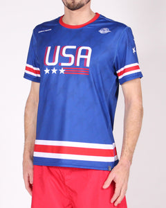 Blue USNT 2019 Sublimated Electro Jersey