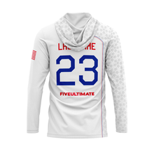Load image into Gallery viewer, 2020 USNT White Sun Hoodie