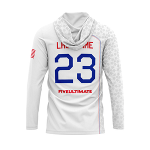 2020 USNT White Sun Hoodie