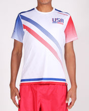 Load image into Gallery viewer, White USNT 2019 Sublimated Electro Jersey