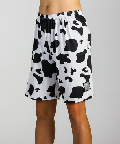 Cow Print Hydro Shorts (W)