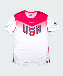Light USNT 2017 Replica Sublimated Electro Jersey (W)