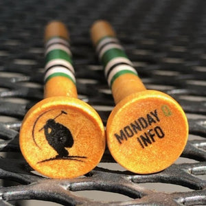 Monday Q Logo Golf Tees