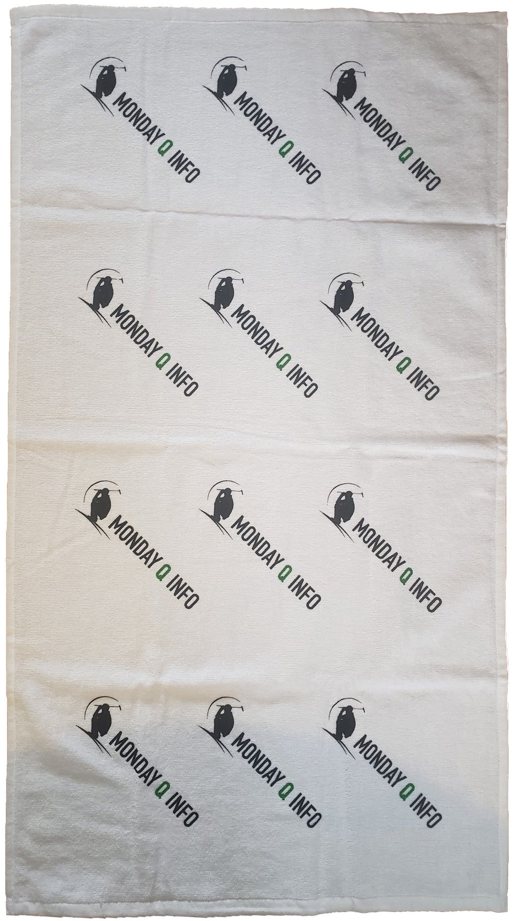 Monday Q Logo Golf Towel