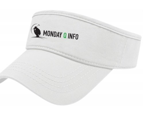 Monday Q Performance Visor - White
