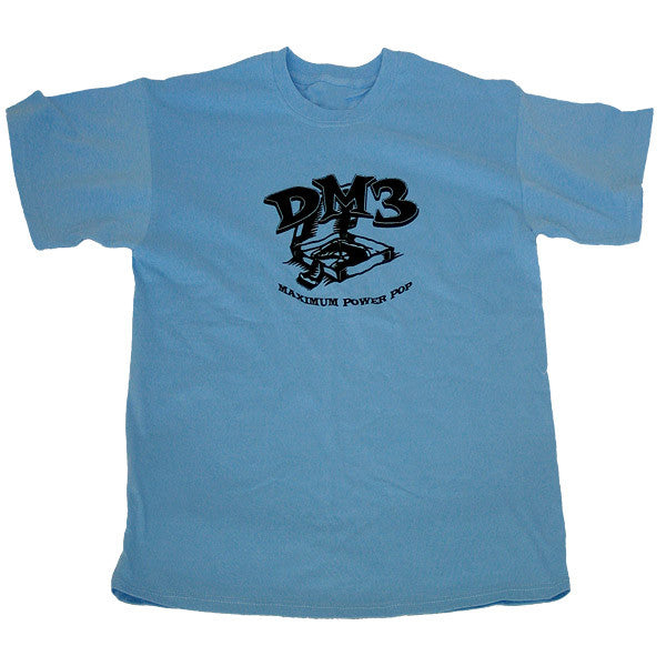 """maximum power pop"" blue guys t-shirt"