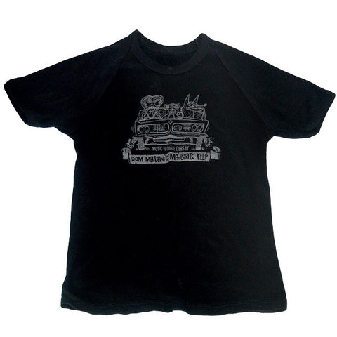 """music to chase cars by"" t-shirt"