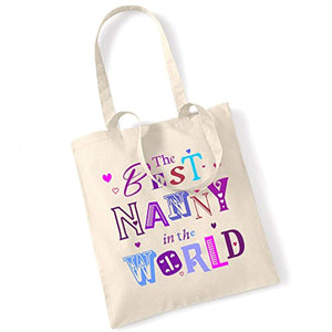 The Best Nanny In The World Tote/Shoulder Bag