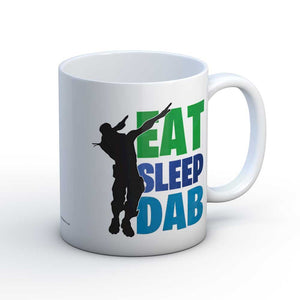 Fornite Inspired Eat Sleep DAB Fun Gamer Gift Mug