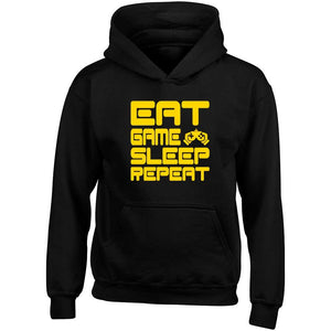 Eat Game Sleep Repeat Child's Gamer Gaming Hoodie