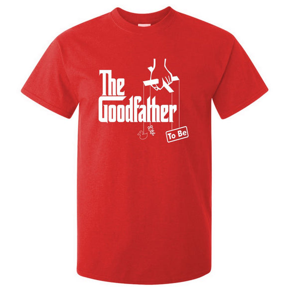 The Goodfather To Be T-Shirt Godfather Inspired Gift For The Dad To Be