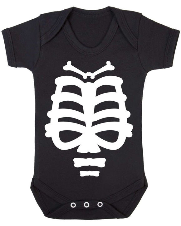 Fun Skeleton Baby Unisex Short Sleeve Baby Vest