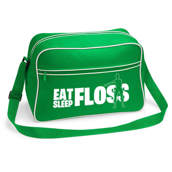 Eat Sleep Floss Fortnite gamer inspired shoulder bag