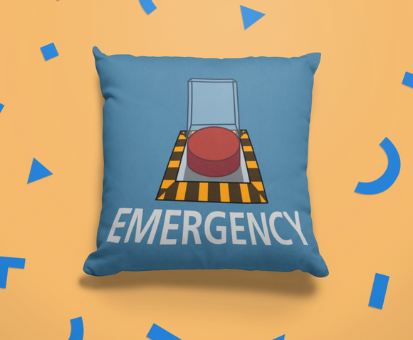 Among Us Emergency Button Gamer Cushion