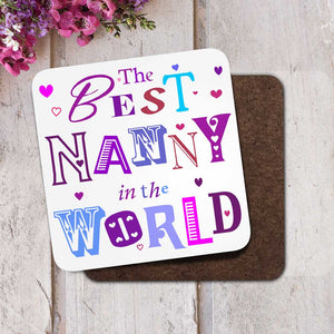 The Best Nanny in the World Coaster