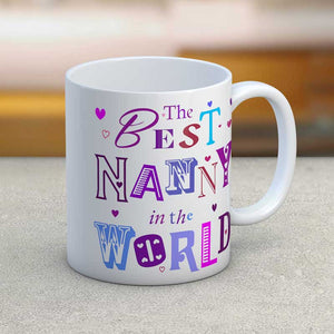 The Best Nanny in the World Mug