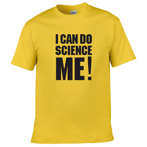 Brainiac I Can do Science Me Adults T-shirt
