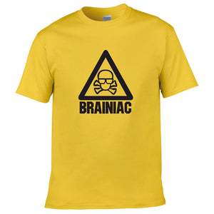 Brainiac Science Abuse Adults T-Shirt