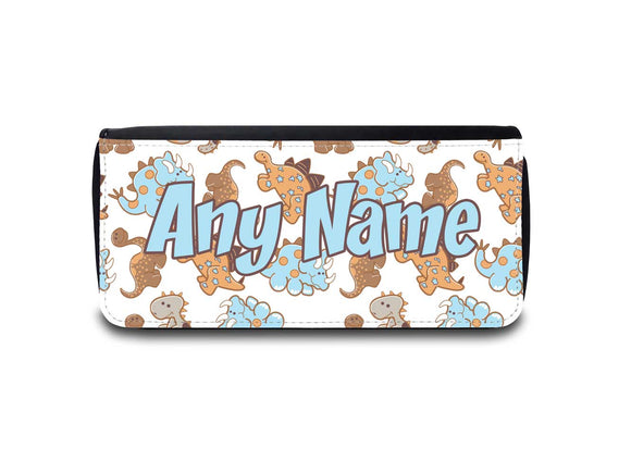 Fun Personalised Cute Dinosaur Design Pencil Case