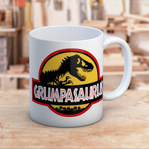 Grumpasaurus Jurassic Themed Dinosaur Gift Mug For Grumps