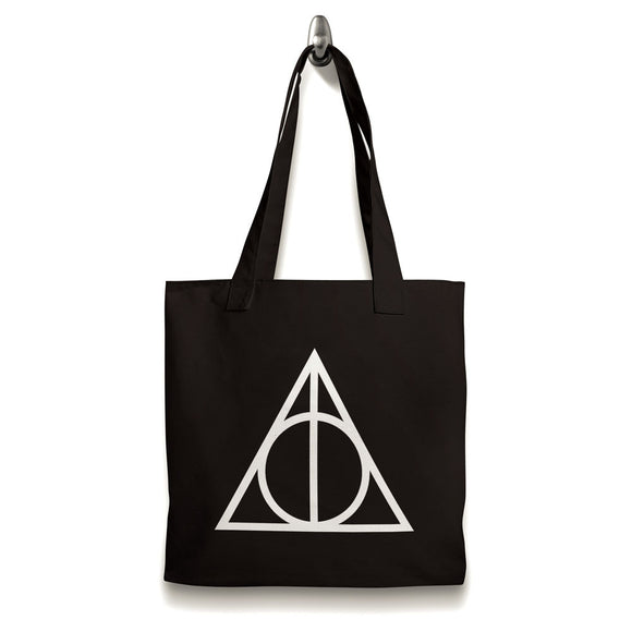 Harry Potter Inspired Triangle Tote Shopping Bag