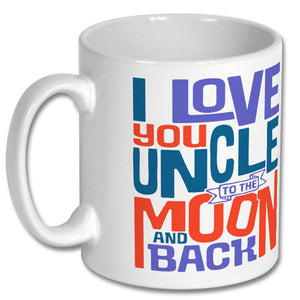 I Love You Uncle to the Moon and Back Mug