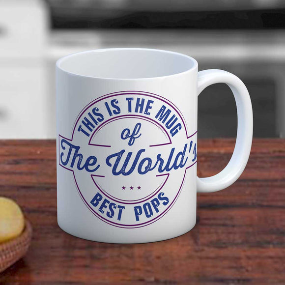 World's Best Pops Mug