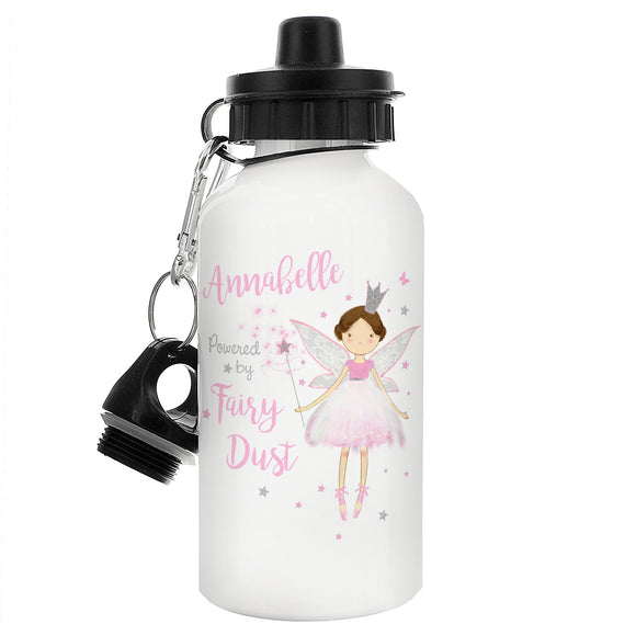 Girls Fairy Princess Personalised Drinks Bottle Gift