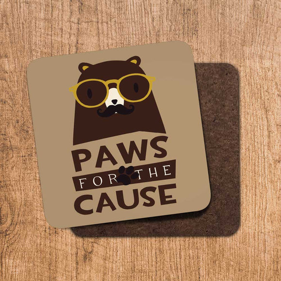Paws for the Cause Coaster