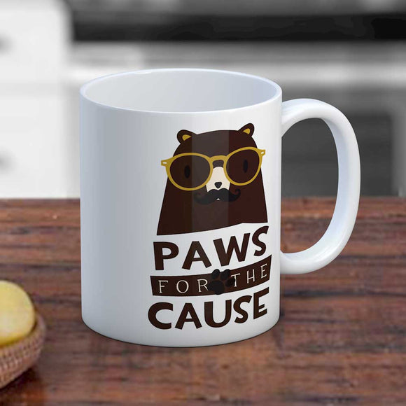 Paws For The Cause Mug