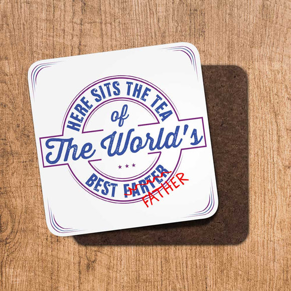 Copy of Tea Worlds Best Farter/Father Coaster