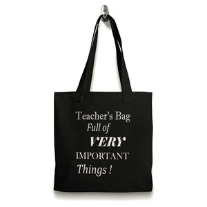 Teacher's Bag Fun Tote Shopping Bag
