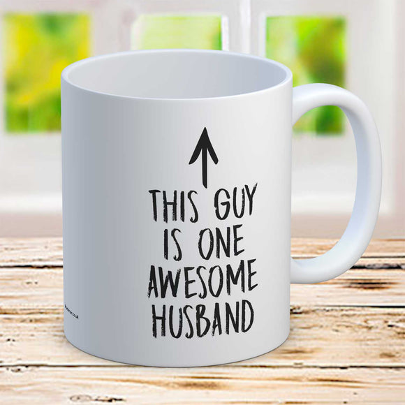 One Awesome Husband Funny Coffee Mug