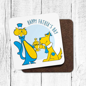 Happy Father's Day Coaster