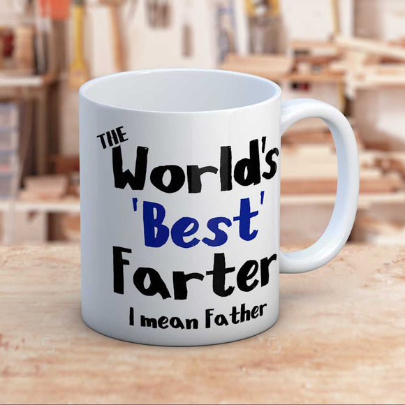 World's Best Farter Fun Mug