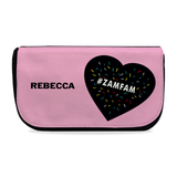 Personalised #ZAMFAM Rebecca Zamolo Girls Makeup Bag