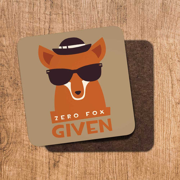 Zero Fox Given Coaster