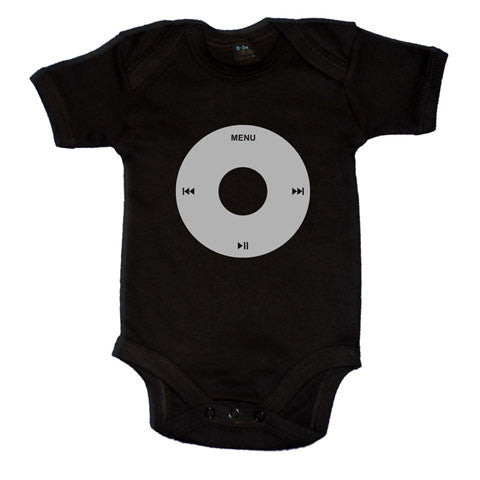 Fun iPod Button Themed Baby Vest