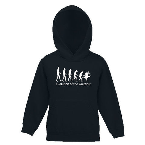 Evolution of the Guitarist Motif Childs Hooded Top