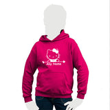 Hello Kitty Motif Personalised Child's Hooded Top
