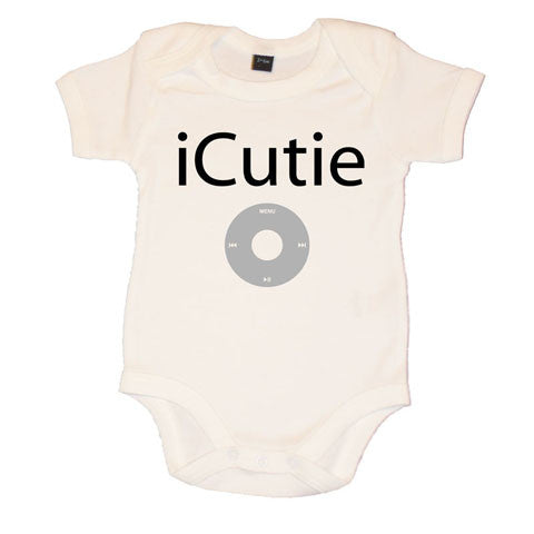 iCutie Fun iPod Themed Baby Vest