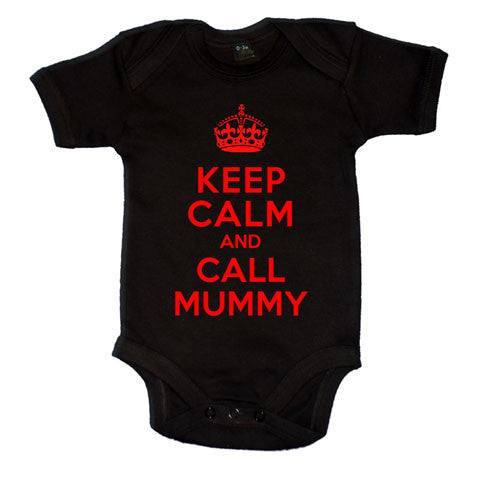 37f1532f9 Keep Calm And Call Mummy Boys Baby Vest – Doodleman.co.uk