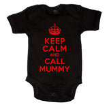 Keep Calm And Call Mummy Boys Baby Vest