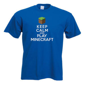 Minecraft Keep Calm And Play Minecraft Child's T-Shirt