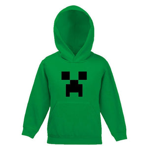 Minecraft Creeper Child's Hooded Top