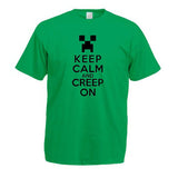 Minecraft Keep Calm And Creep On Child's T-Shirt