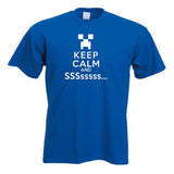 Minecraft Keep Calm And SSSsssss Child's T-Shirt