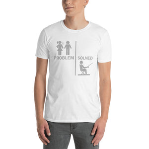 Fun Problem Solved Fishing T-Shirt For Fishermen