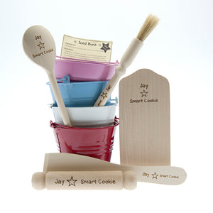 Children's Personalised Smart Cookie Baking Set