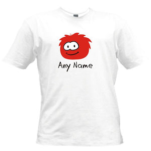 PERSONALISED PUFFLE CHILDS T-SHIRT